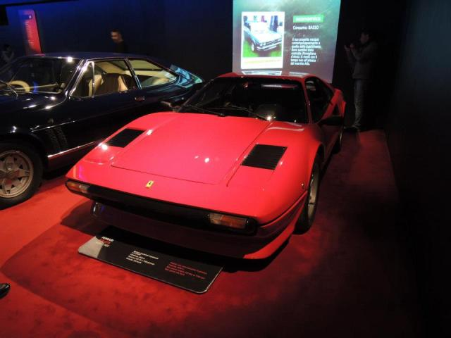 Ferrari at the museum